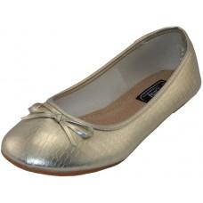 S8500L-GG Wholesale Women's Ballerina Shoes ( *Metallic Gold ) *Last 5 Case