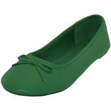 S8500L-Green Wholesale Women's Ballerina Shoes ( *Green Color )