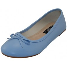 "S8500L-Lt. Blue  - Wholesale Women's ""EasyUSA"" Comfort Ballet Flat Shoes  ( *Light Blue Color ) *Close Out $2.00/Pr Case $36.00"