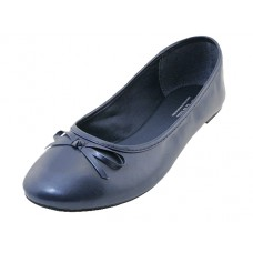 "S8500L-Navy - Wholesale Women's ""EasyUSA"" Comfort Ballet Flat Shoes  ( *Navy Color )"