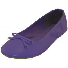 S8500L-Purple Wholesale Women's Ballerina Shoes ( *Purple Color )