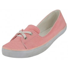 "SS0580L-P Wholesale Women's ""EasyUSA"" Lace Up Canvas Shoe ( *Pink Color )"