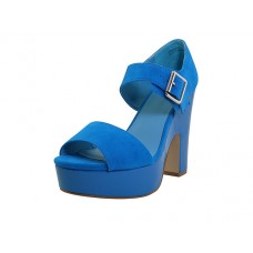 "SHEENA-02 - Wholesale Women's ""Mixx Shuz"" High Heel Ankle Height Sandals ( *Turqouise Color ) *Last Case"
