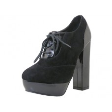 "VIVIAN-BLACK Wholesale Women's ""Ange;es Shoes"" Hi-Heel Lace Up ( *Black Color ) *Last 3 Case"