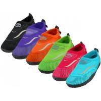 """W1182L-A- Wholesale Women's """"Wave"""" Water Shoes ( *Asst. Color )"""