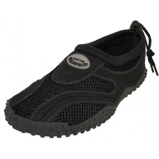 "W1185L-BB - Wholesale Women's ""Wave""  Active Water Shoes ( *Black Only )"