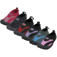 "W2285L-A - Wholesale Women's Barefoot ""Wave"" Water Shoes.  ( *Asst. Color )"