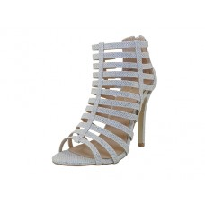 "XENA-S Wholesale Women's ""Mixx Shuz"" High Heel sandals ( *Silver Color )  *Last Case"