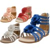 G902-A - Wholesale Children With Back Zipper Gladiator Sandals